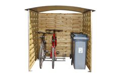 Afbeelding van Mottez houten berging voor fietsen from ColliShop
