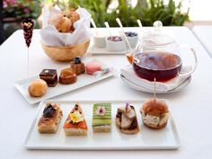 Afternoon Tea at #hotelbelair is a time-honored tradition. #wolfgangpuck