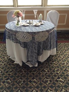 Mission Point Resort's Summit Room Sweetheart Table
