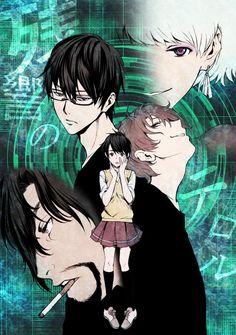 Shibazaki Kenjirou, Nine (Kokonoe Arata), Mishima Lisa, Twelve (Hisami Touji) & Five