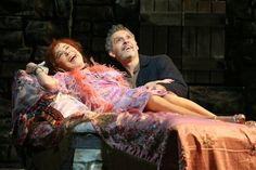 Zoë Wanamaker and John Turturro in a scene from Encores! Zorba! (Photo credit: Joan Marcus)