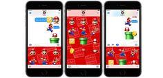 Llegan los stickers de Super Mario para iMessage el día de lanzamiento de iOS 10 - http://www.actualidadiphone.com/llegan-los-stickers-super-mario-imessage/
