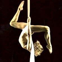 Ever since seeing Cirque De Soleil on Bravo I have been in love with this. One day I hope to be strong enough to do this at Austin's Sky Candy! bronze and glass silk Aerial Dance, Aerial Acrobatics, Aerial Hoop, Aerial Arts, Pole Dance, Modern Dance, Arial Silks, Swing Yoga, Silk Dancing