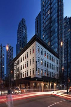Stay mere blocks from Yaletown with a night or two at this boutique hotel, which is also home to a wine bar and more. The Destination Situated in an exclusive historic district, Yaletown is downtown. Vancouver Hotels, Downtown Vancouver, Unique Hotels, Beautiful Hotels, Espresso Cafe, Restaurants, Vancouver British Columbia, Best Boutique Hotels, Canada