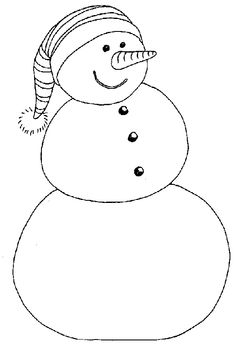 Gift these Preschool Christmas Coloring Pages to your little kids and preschoolers to enjoy their free time and holiday season of Xmas. Snowman Coloring Pages, Christmas Coloring Sheets, Printable Christmas Coloring Pages, Preschool Coloring Pages, Free Christmas Printables, Free Printable Coloring Pages, Coloring Pages For Kids, Coloring Books, Adult Coloring