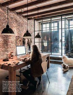 Un entrepôt rénové par Marius Haverkamp à Amsterdam | Turbulences Déco