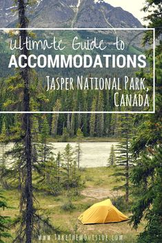 A guide to your Jasper accommodation options. from camping to luxury hotels, hostels and private rentals. Jasper National Park, Canada has it all. Jasper National Park, Banff National Park, National Parks, Jasper Canada, Mountain Photography, Canadian Rockies, Canada Travel, Adventure Travel