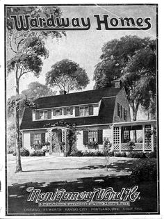 FREE DOWNLOAD Wardway Homes house kit catalog - Montgomery Ward & Co. (1924).