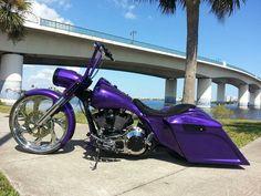 Harley Bagger, Bagger Motorcycle, Motorcycle Style, Custom Baggers, Custom Motorcycles, Custom Bikes, Custom Street Glide, Custom Motorcycle Paint Jobs, Wood Burn Designs