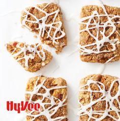 Cinnamon Roll Apple Scones are the best kind of hybrid. They taste like dessert for breakfast.