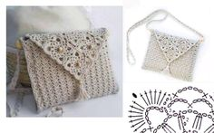 See howto makea bag in crochet, very elegant and beautiful. Ideal to take to a party. This bag can either be used by a young person, or for an adult, it is always beautiful. See the graphics and make this … Read more... →