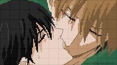 Pixel Art Grid, Anime Pixel Art, Minecraft Pixel Art, Haikyuu Ships, Alpha Patterns, New Words, More Photos, Places To Go, Cross Stitch