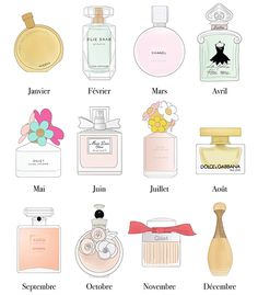 Calendrier 2016 complet à imprimer parfums illustrations fragrance drawing féminin sobre épuré illustration drawing Calendrier 2016 complet à imprimer parfums fragrance dior chanel chance miss dior chérie valentina dolce gabbana chloé la petite robe noire daisy marc jacobs dior j'adore coco mademoiselle illustration drawing dessin blogueuse blogger illustratrice BD french free printable print affiche