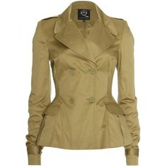 McQ Alexander McQueen Trench Jacket ($793) ❤ liked on Polyvore