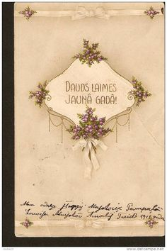 Happy New Year - passed Vindava & Muravjevo kov. post in 1912