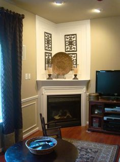 Corner Designs For Living Room Endearing How To And How Not To Decorate A Corner Fireplace Mantel  Corner Decorating Inspiration