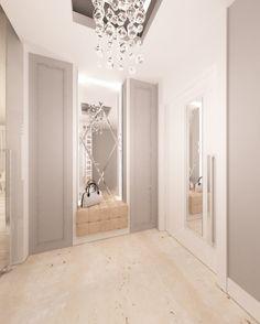 Projekt wnętrz rezydencji pod Warszawą z odrobiną luksusu - Tissu