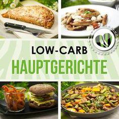 Die besten low-carb Hauptspeisen von www.schwarzgrueneszebra.de Low Carb Recipes, Healthy Recipes, Healthy Meals, Low Carb Pizza, Convenience Food, Eating Habits, Food Videos, Paleo, Keto