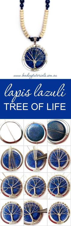 DIY Bijoux  Step-By-Step tree of life tutorial. beadingtutorials.