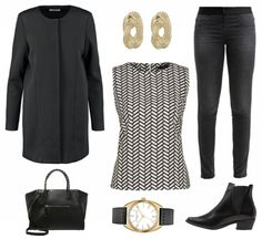 #Herbstoutfit #allblackeverything ♥ #outfit #Damenoutfit #outfitdestages #dresslove