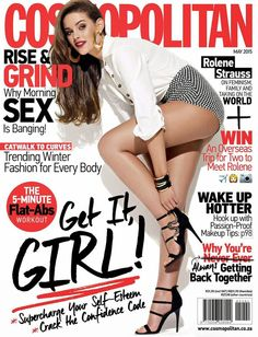 Cosmopolitan South Africa May 2015 Rolene Strauss