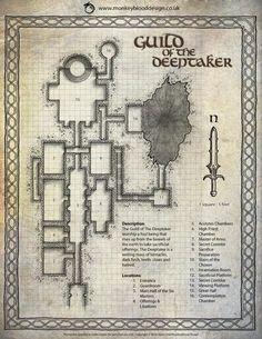 Guild of the Deeptaker (Color Labelled Version)