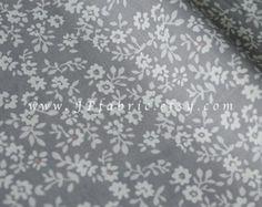 Flowers fabric. Japanese Fabric. JP100261 by JPfabric on Etsy