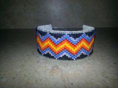 Native American Beaded Cuff. $55.00, via Etsy.