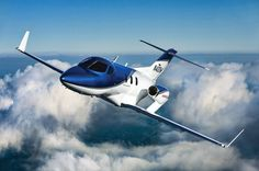 The proof-of-concept HondaJet, retired in 2011.