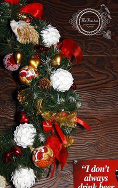 украшение новый год ресторана кафе кемерово комплексное дизайн декор флористика www.flofra.ru.jpg 15