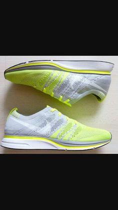 880f06f6acc3b nike flyknit trainer (+) - volt white tarp green bday gift for