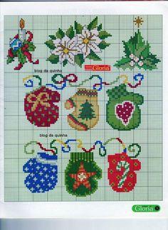 Cross Stitch Christmas Ornaments, Xmas Cross Stitch, Cross Stitch Books, Christmas Ornament Crafts, Cross Stitch Alphabet, Christmas Embroidery, Christmas Cross, Cross Stitch Charts, Cross Stitch Designs