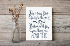 Printable art Navy master bedroom decor Navy wall art Wedding quote print I can't help falling in love with you Wedding song art print decor