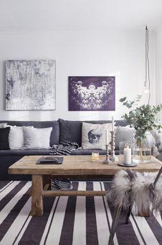 Hjemme hos Rune/Levanger KK Living: Slik fornyer du stuen kkliving.no
