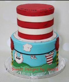 Will's shower - Cake by SweetdesignsbyJesica