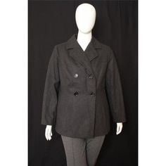 Tommy Hilfiger, 1X - wool coat, great for colder days, and looks good too!