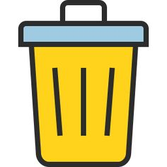 Trash Icon Outline Filled - Icon Shop - Download free icons for ...