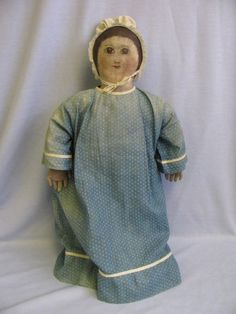 beautiful folk art doll