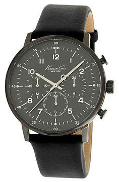 New York Round Bracelet Watch, Kenneth Cole, Nordstrom.com, $150, ItsGorgeousSheLovesIt.tumblr.com