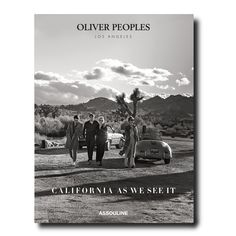 Oliver Peoples By Assouline Books Elements Of Film, Assouline, V Magazine, Coffee Table Books, Los Angeles California, Oliver Peoples, Custom Packaging, Vintage Frames, Book Gifts