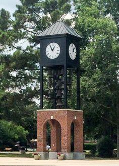 Coastal Carolina University Myrtle Beach, SC clock tower