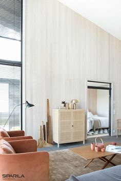 The wave-like, three-dimensional surface of VIRE panel changes depending on the viewing angle. Three Dimensional, Wave, Divider, Surface, Interior, Room, Furniture, Home Decor, Bedroom