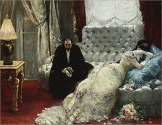 Return from the Ball by Henri Gervex, 1879.