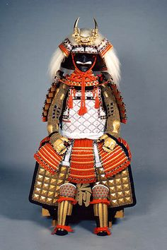 武田信玄 風林火山 Samurai armor is displayed for Tango no Sekku