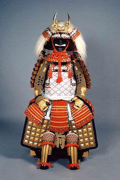 武田信玄 風林火山 Samurai armor is displayed for Tango no Sekku
