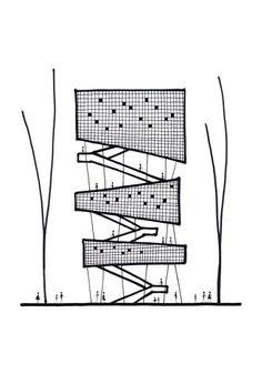 New Ideas Landscape Architecture Concept Diagram Ideas Architecture Design, Architecture Concept Diagram, Architecture Panel, Architecture Graphics, Architecture Drawings, Landscape Architecture, Gothic Architecture, Architecture Diagrams, Building Architecture