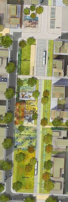 Quick And Easy Landscaping On A Budget - House Garden Landscape Landscape And Urbanism, Landscape Architecture Design, Landscape Plans, Urban Landscape, Software Architecture Design, Masterplan Architecture, Landscape Engineer, Parque Linear, Parking Design