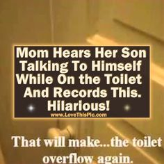 Mom Hears Her Son Talking To Himself While On The Toilet And Records This. Hilarious! funny humor video funny kids videos funny videos viral videos funny kid videos viral videos right now viral right now