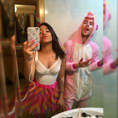Disfraz de unicornio pareja 🦄 Tutu, Bella, Halloween, Style, Fashion, Costumes, Couples, Searching, Board