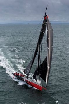 Super-maxi 100' 'Comanche' with Ken Read / Rolex Sydney Hobart Yacht Race 2014